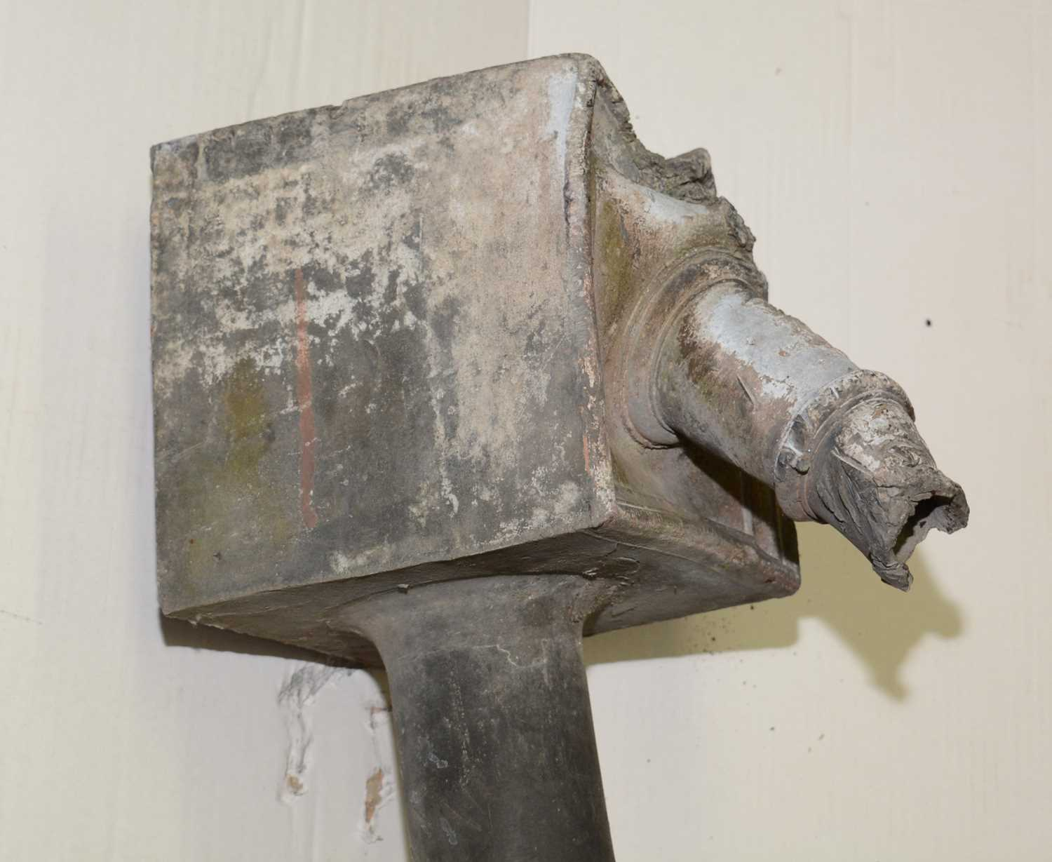 19th Century lead drain junction - Image 4 of 11