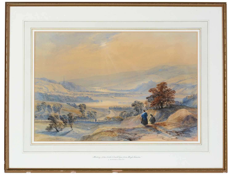 James Burrell Smith - watercolour.