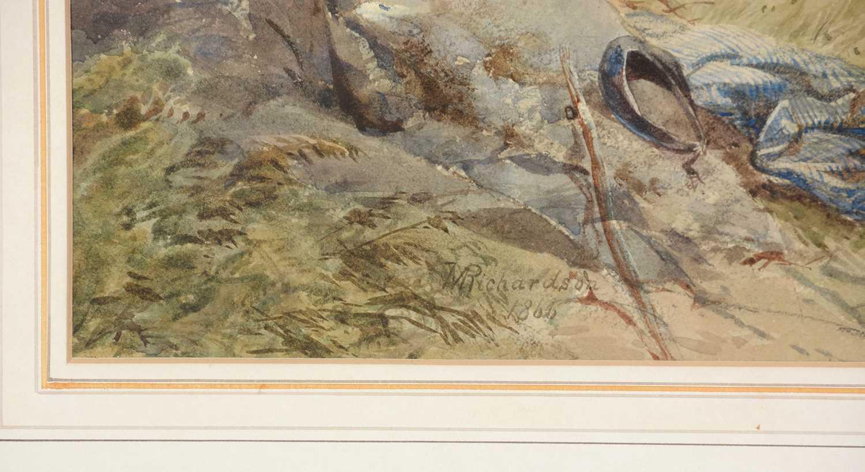 Thomas Miles Richardson, jnr. - watercolour. - Image 3 of 5