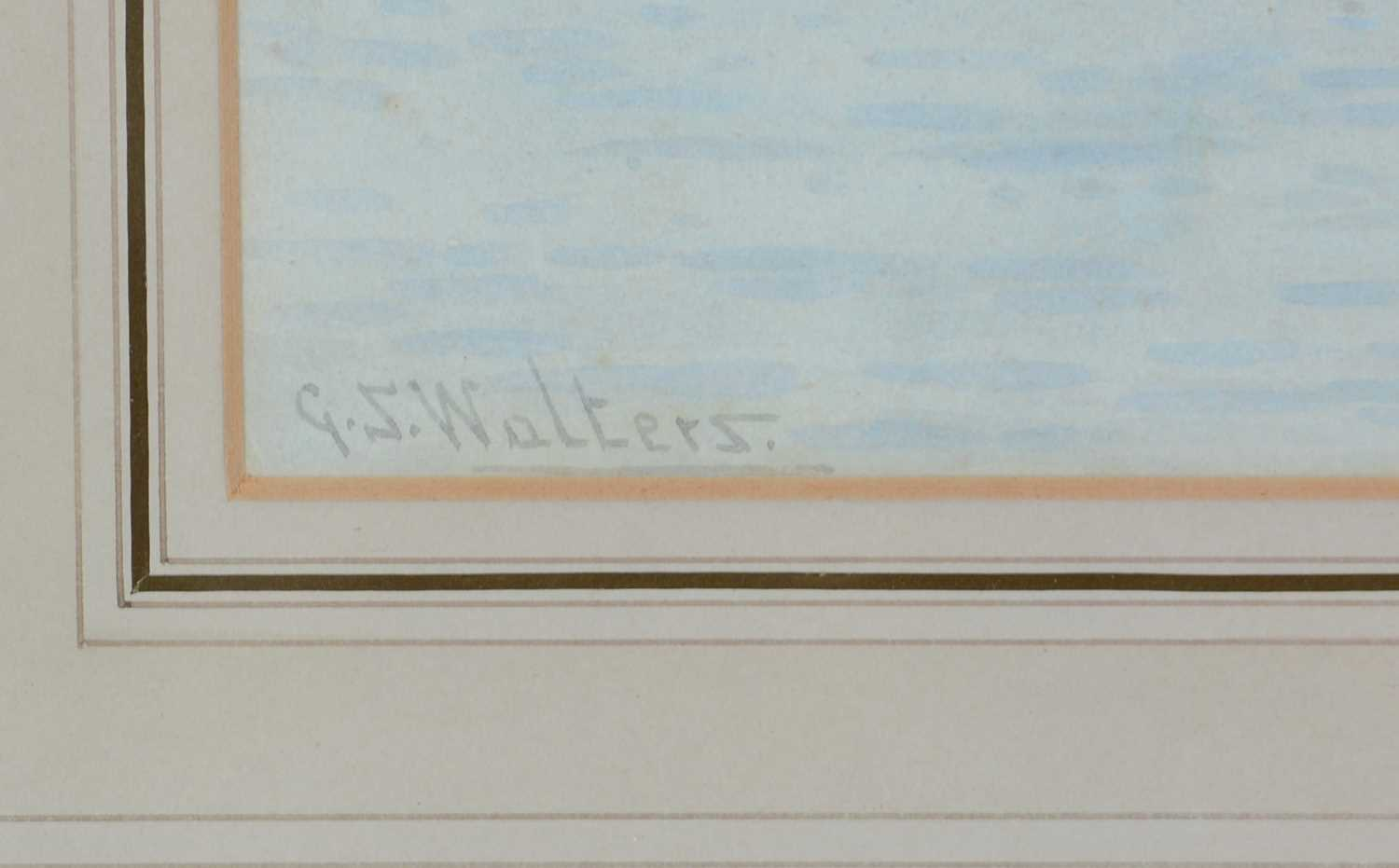 George Stanfield Walters - watercolour. - Image 2 of 5