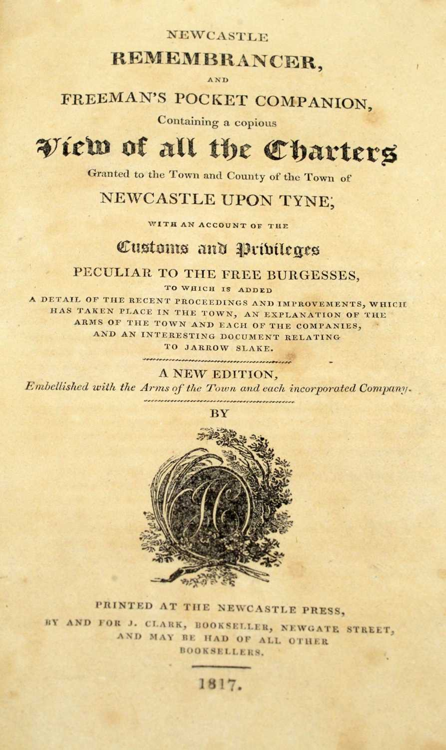 Baillie (J.), An Impartial History of Newcastle... and Newcastle interest books - Image 5 of 5