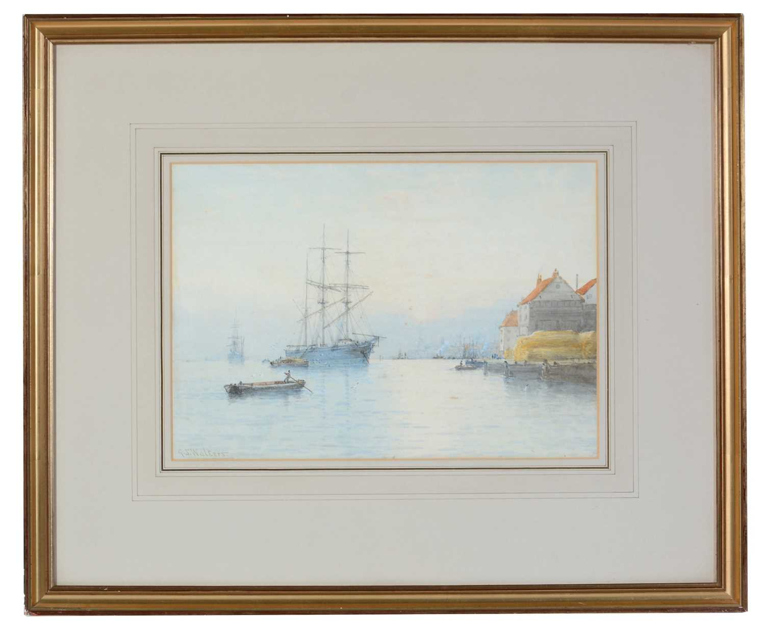 George Stanfield Walters - watercolour.