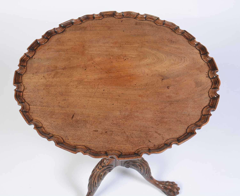 19th Century mahogany tripod table - Image 4 of 11