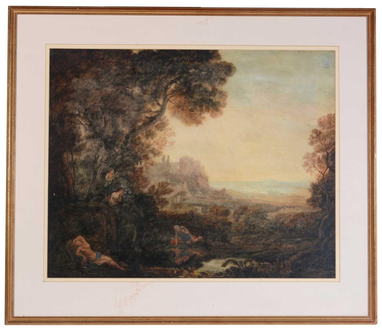 Attributed to Joseph Mallord William Turner, RA - watercolour