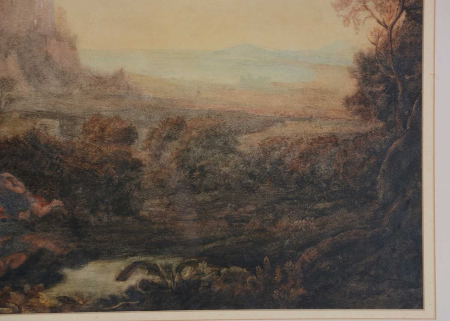 Attributed to Joseph Mallord William Turner, RA - watercolour - Image 4 of 11