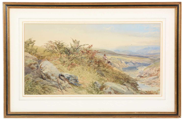 Thomas Miles Richardson, jnr. - watercolour.