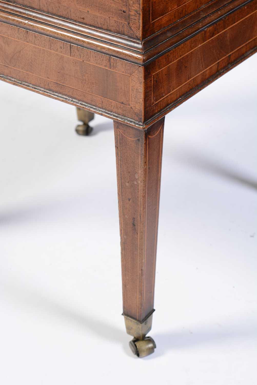 19th Century mahogany cellarette - Image 4 of 6