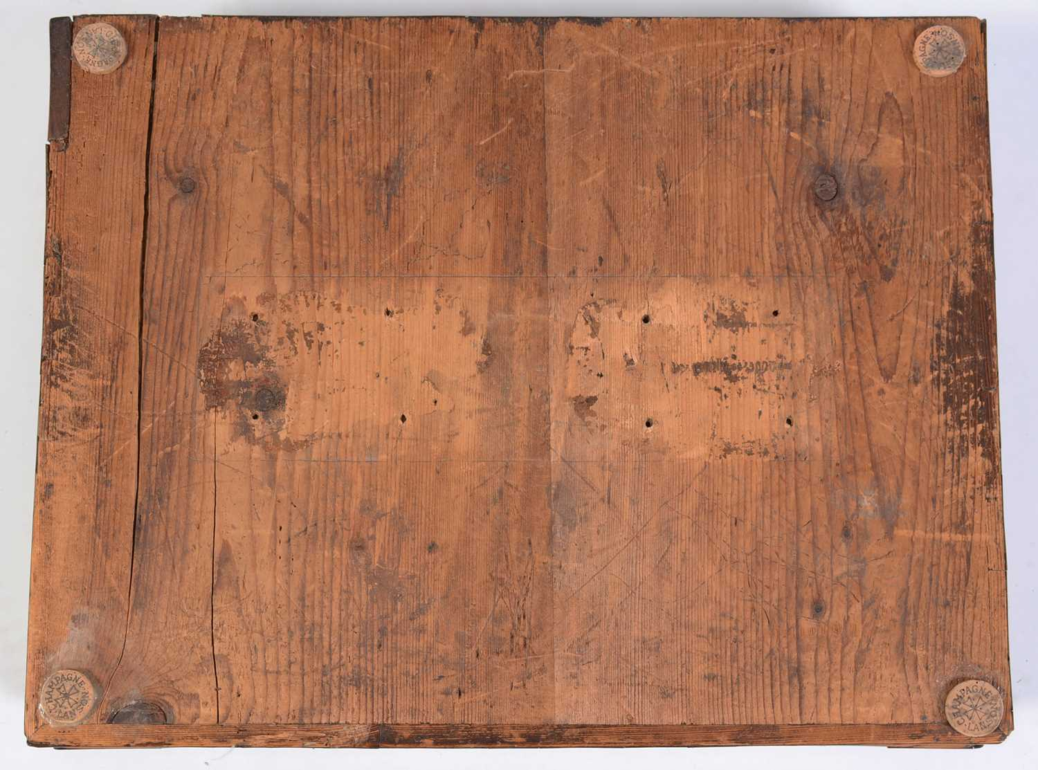18th Century Dutch marquetry and oyster veneered lace box - Image 8 of 9