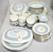 A Royal Doulton 'Counterpoint' tea and dinner service