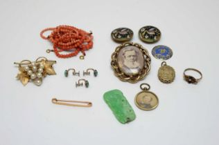 Victorian and later costume jewellery.
