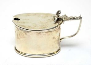 A George V silver mustard