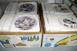 Selection of decorative ceramic plates