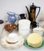 Selection of Portmeirion and other ceramics