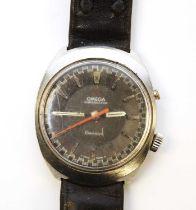 A gentleman's Omega Chronostop wristwatch.