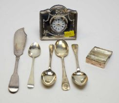 Antique and other items of silver.