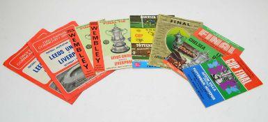 FA Cup final programmes,