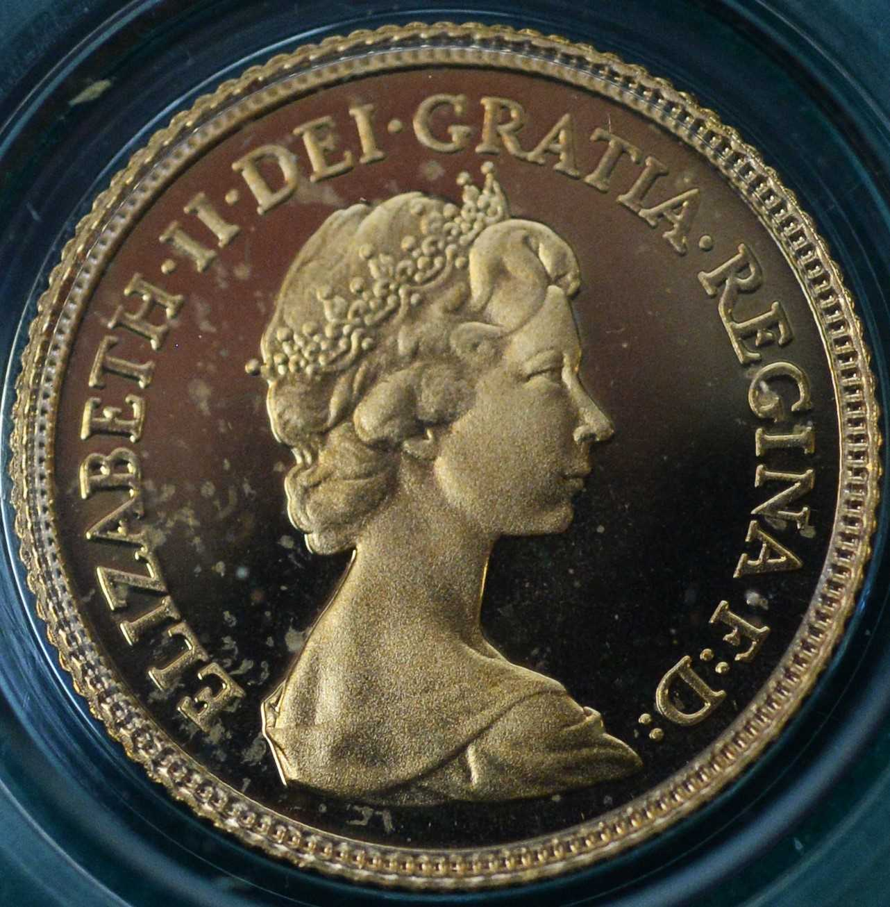 1980 four coin gold proof sovereign set - Image 6 of 8