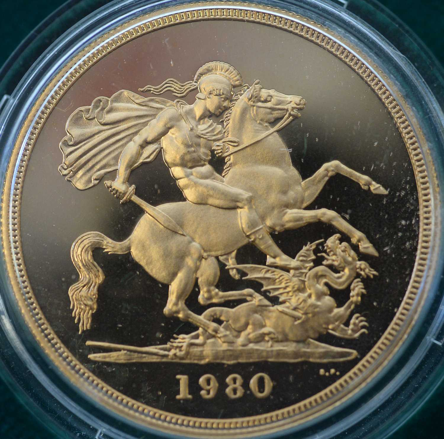 1980 four coin gold proof sovereign set - Image 3 of 8
