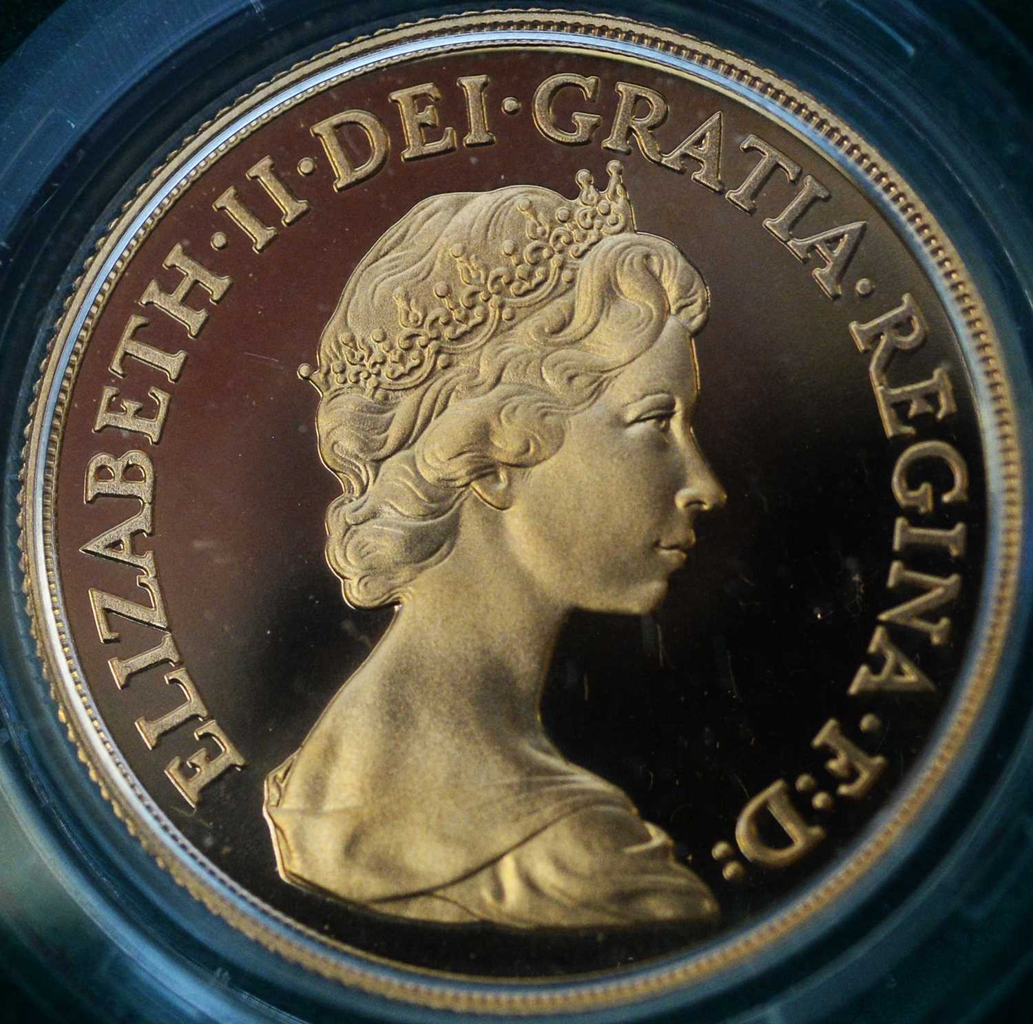 1980 four coin gold proof sovereign set - Image 5 of 8
