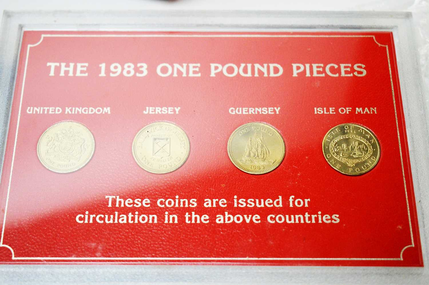 Royal Mint and Isle of Man annual coin sets - Image 3 of 5