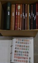A large quantity of New Zealand stamp stock, in stock books.