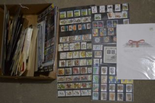 A collection of Royal Mint postage stamps