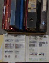 World stamp stock books