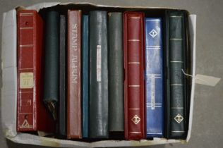Quantity of world stamp stock books,
