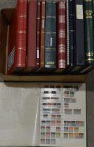 World stamp stock albums,