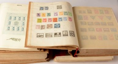 Two New Ideal stamp albums and two others