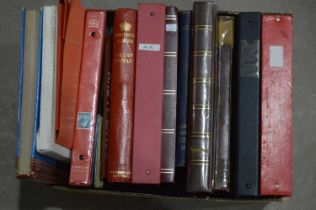 British and Commonwealth stamps in stock books