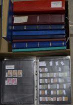World stock stamp books,