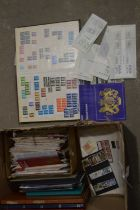 A large quantity of Royal mail stamp blocks,