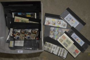 A large quantity of Royal mail mint and used stamps