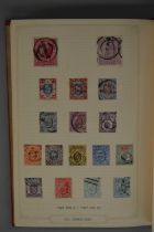 An album of GB stamps