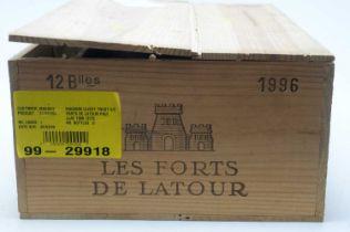 Chateau Les Forts de Latour, Pauillac 1996