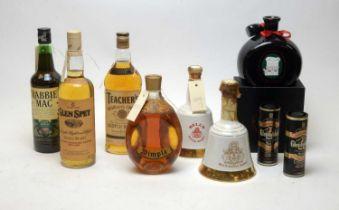 Mixed whisky lot