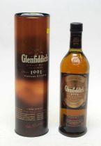 Glenfiddich 1991 Vintage Reserve Don Ramsay L.E. Single Malt Scotch Whisky.