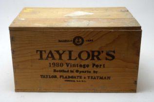 Taylors Vintage Port 1980