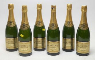 Champagne Heidsieck & Co Monopole Gold Top 1997(x5) and 1996(1)