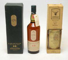 Connoisseurs Choice Millburn Distillery; and Lagavulin Single Islay Malt Whisky.
