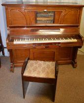 20th Century mahogany 'Autopiano' by Krastner & Co. Ltd