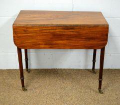 A 19th Century mahogany Pembroke table.
