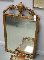 Early 20th Century gilt framed wall mirror