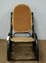 A 20th Century Bentwood armchair in the manner of Thonet