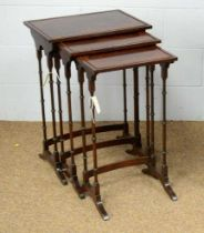Early 20th Century nest of tables