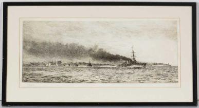 William Lionel Wyllie - etching