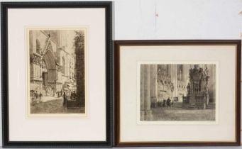 Axel Herman Haig - etchings