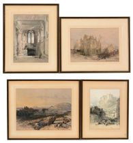 After David Robert and William Leitch - Lithographs