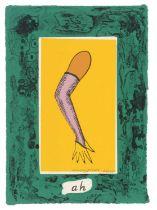 Allen Jones - lithograph